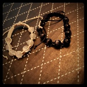 Couples matching bracelet set